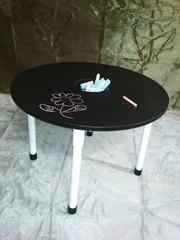 Грифельный меловой детский столик.