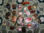 Продам небольшую коллекцию значков времен СССР