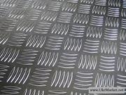 Алюминиевый лист рифленый квинтет 1мм 1х1000х2000мм ГОСТ 1050 АН24