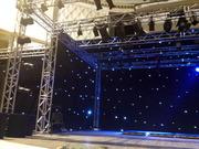 Задник «звездное небо» и одежда сцены.