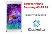Замена стекла Samsung A3 (A300,  A310),  A5 (A500,  A510),  A7 (A700,  A710