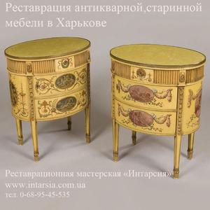 Реставрация антикварной, старинной мебели в Харькове