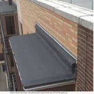Ремонтируем крыши и козырьки балконов