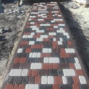 Укладка тротуарной плитки,  кирпича,  камня,  брусчатки