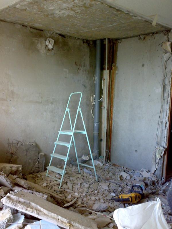 Демонтаж сантехкабин, блоккомнат под ключ с вывозом Харьков 3