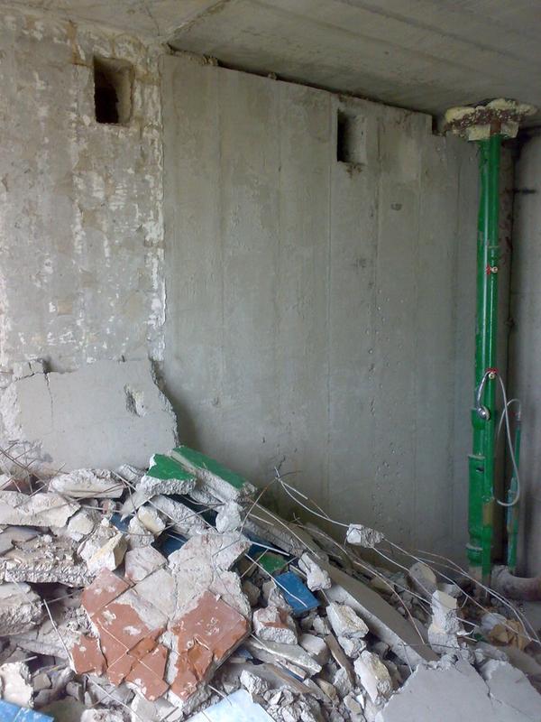 Демонтаж сантехкабин, блоккомнат под ключ с вывозом Харьков 4