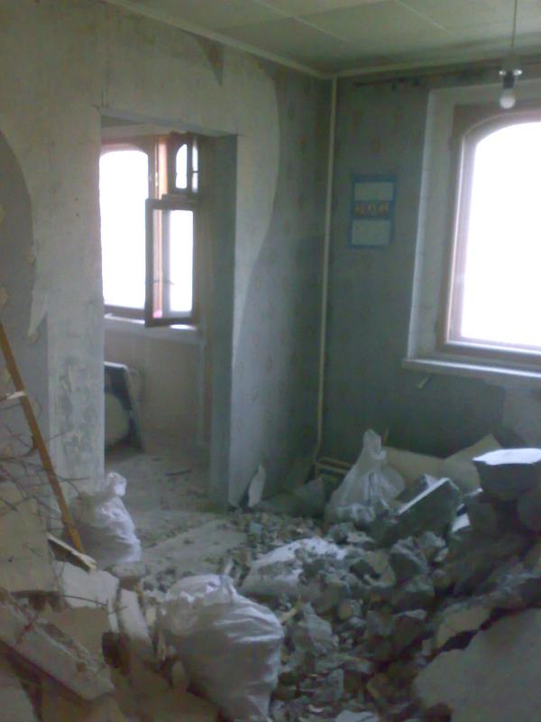Демонтаж сантехкабин, блоккомнат под ключ с вывозом Харьков 5