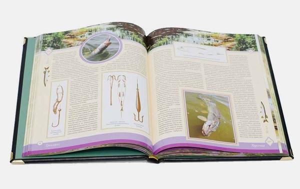 Подарочная книга для мужчин Жизнь и ловля пресноводных рыб Сабанеев 4