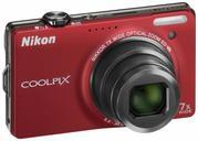 Продам цифровой фотоаппарат Nikon Coolpix S6000