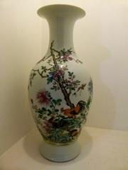 Старинные вазы, пара.Китай, 18 ст.