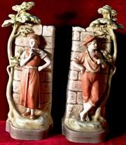Старинные вазы кашпо