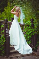 57701de2519 Продам красивое нежное свадебное платье б у