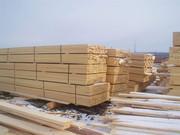 Производим ДОСКУ(обрезная и не обрезная),  БРУС от 3 до 7.5 м от 15 куб